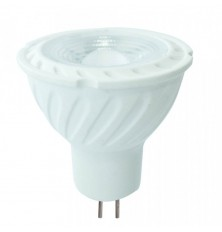 LED Spotlight Samsung Chip - GU5.3 6.5W MR16 Ripple Plastic Lens Cover 38` 6400K