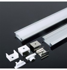 Aluminum Profile 2000* 24.7*7MM White Housing