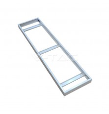 Surface Frame For 1200x300mm Panel White