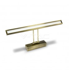 8W LED Picture/Mirror Lamp Golden 4000K
