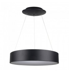 30W LED Surface Smooth Pendant Light Dimmable Black 3000K