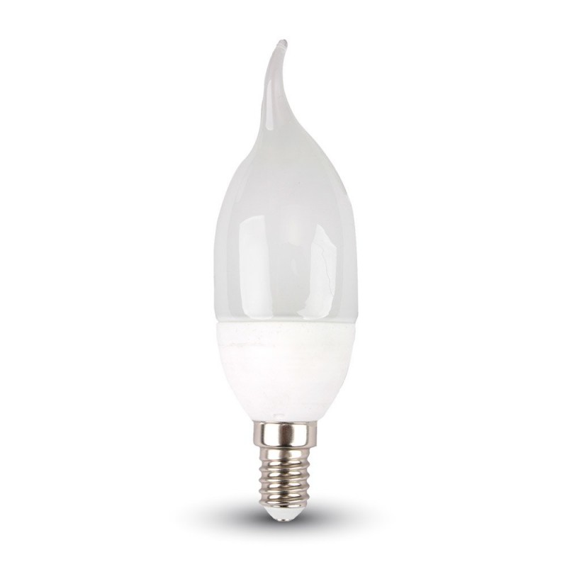 LED Bulb - 4W E14 Candle Flame 4500K
