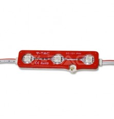 LED Module 3SMD Chips SMD5050 Red IP67
