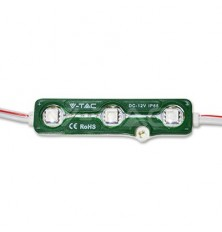 LED Module 3SMD Chips SMD5050 Green IP67