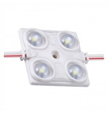 LED Module 1.44W 4LED SMD2835 Blue IP68