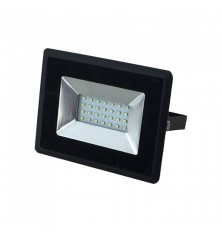 20W LED Floodlight SMD E-Series Black Body Red IP65