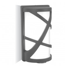 Wall Lamp E27 Dark Grey
