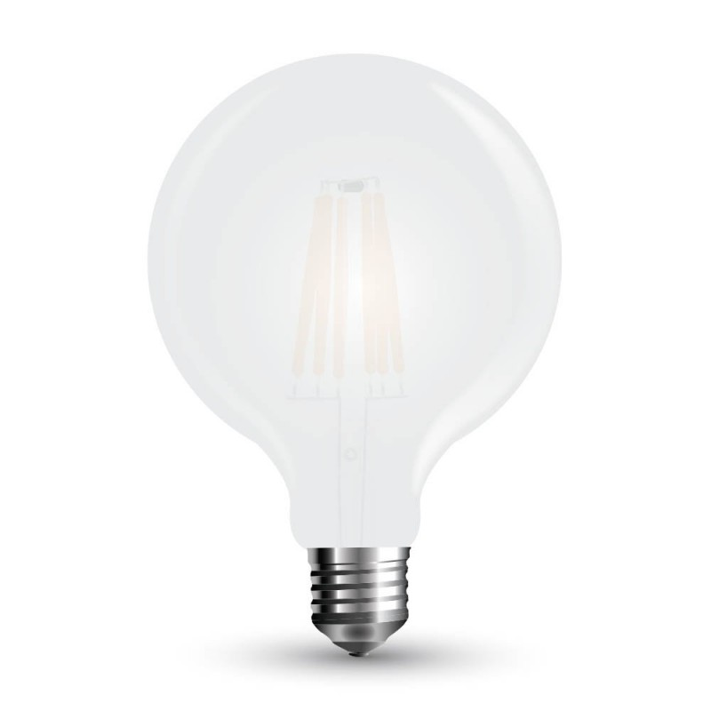 LED Bulb - 7W Filament E27 G95 Frost Cover 6400K