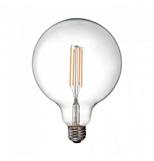 LED Bulb - 12.5W Filament E27 G125 Clear Cover 6500K
