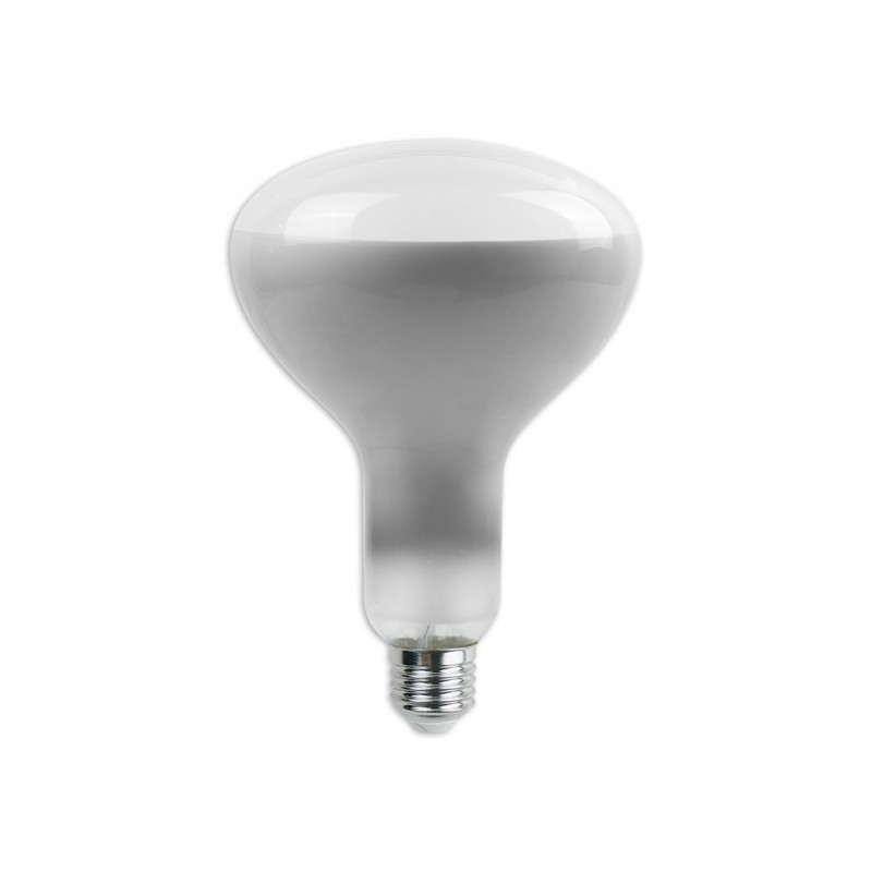 LED Bulb - 8W Straight Filament E27 R125 Dimmable 4000K