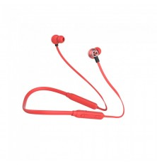 Headset Bluetooth 500mAh Red