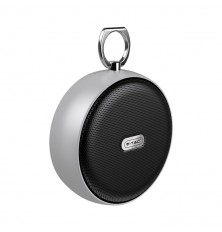Portable Bluetooth Speaker With Micro USB And High End Cable 800mah Battery Grey