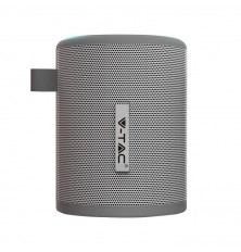 Portable Bluetooth Speaker With Micro USB And High End Cable 1500mah Battery Grey