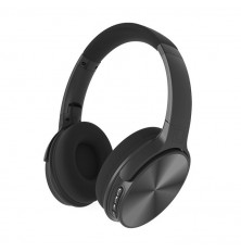 Bluetooth Wireless Headphone With Rotable Head 500mAh Black W/BAG