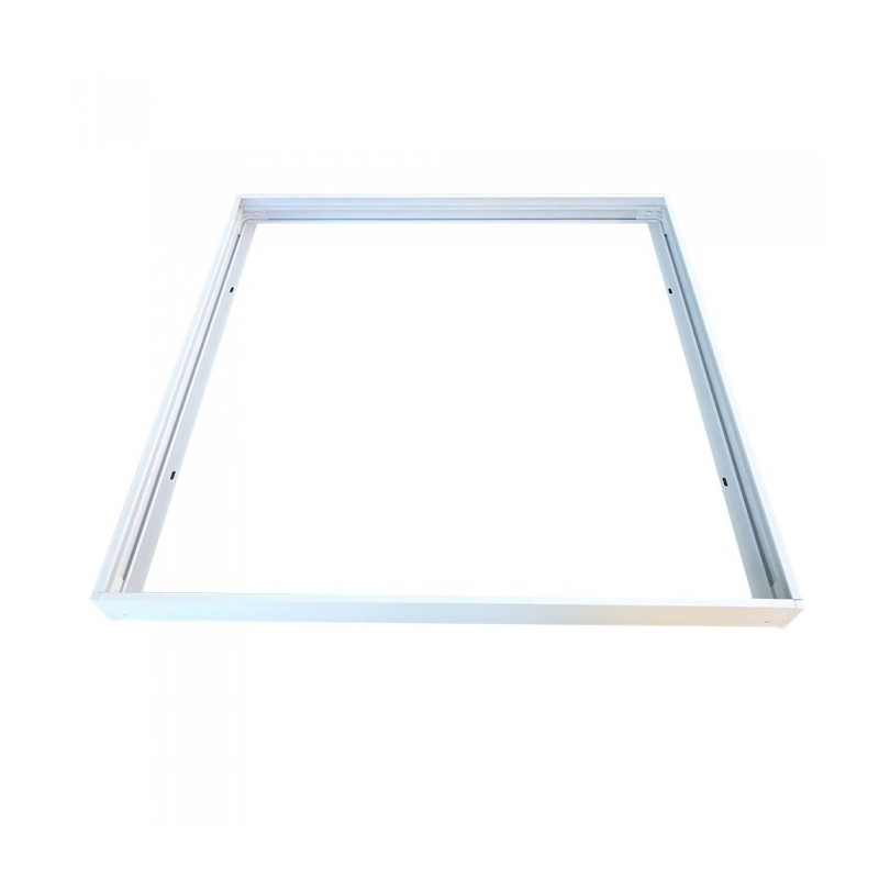Aluminum Frame 622X622 With Screws Fixed White