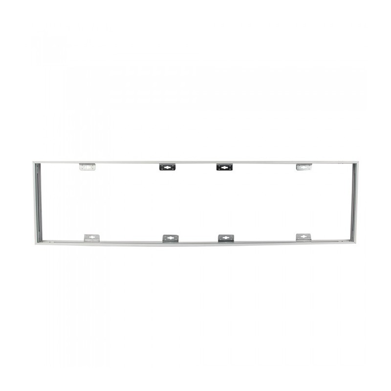 Aluminum Frame 300X1200 With Screws Fixed White