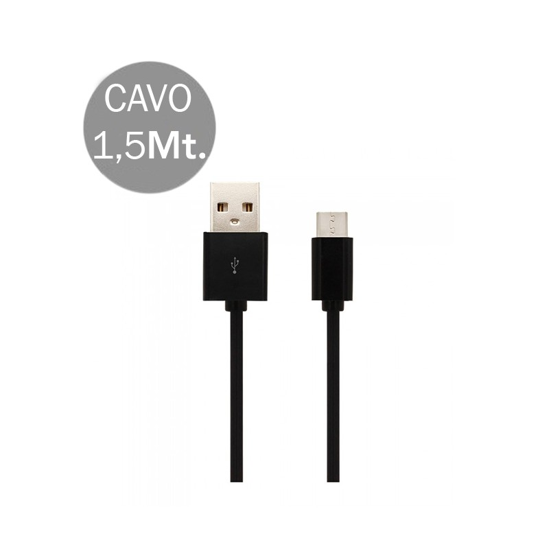 Micro USB Cable 1.5M Black