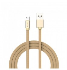 1 M Micro USB Cable Gold - Ruby Series