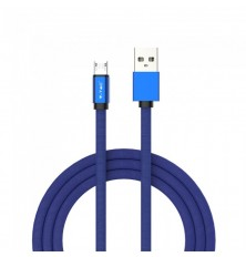 1 M Micro USB Cable Blue - Ruby Series