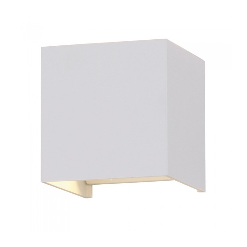 12W LED Wall Lamp With Bridgelux Chip White 4000K Square