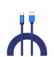 1 M Type C USB Cable Blue - Ruby Series