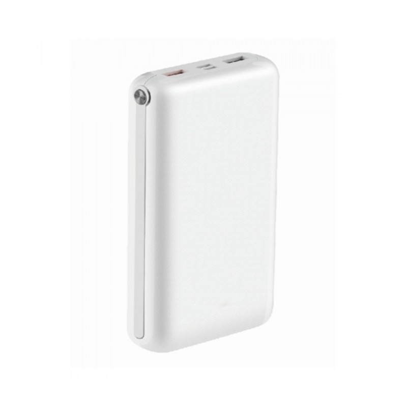 30K Mah Jumbo Power Bank Dual USB White