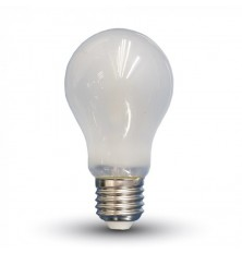 LED Bulb - 6W Filament E27 A60 Frost Cover 2700K