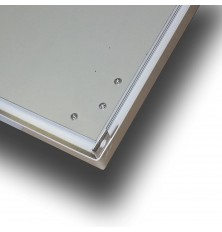 Support for ceiling mounting LED panels 625 * 625 mm...